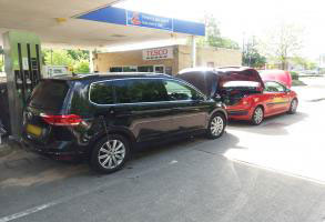 Diesel Fuel Drained From Petrol Vehicle in West Sussex