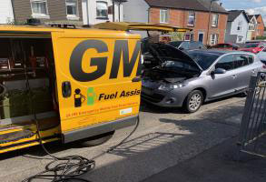 Draining Petrol From Diesel Car