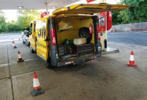 Misfueled petrol in diesel