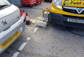 Petrol in Diesel Vehicle Fixed