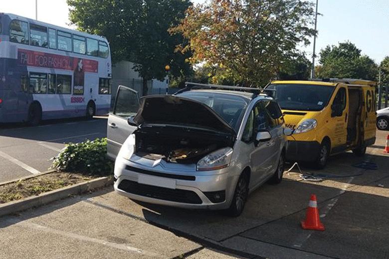 Diesel in Petrol Car