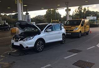 Wrong Fuel Drain